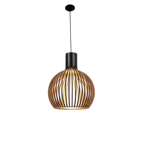 Black Light Pendant Bell 1 Light 460mm Black Pendant Feature Lights