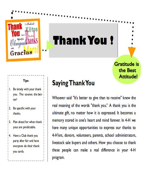 thank you letter to parents for gift sle thank you note to parents 7 exles in word pdf