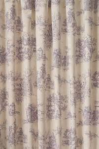 Lavender Curtain Fabric Inspiration Toile Lavender Curtain Fabric