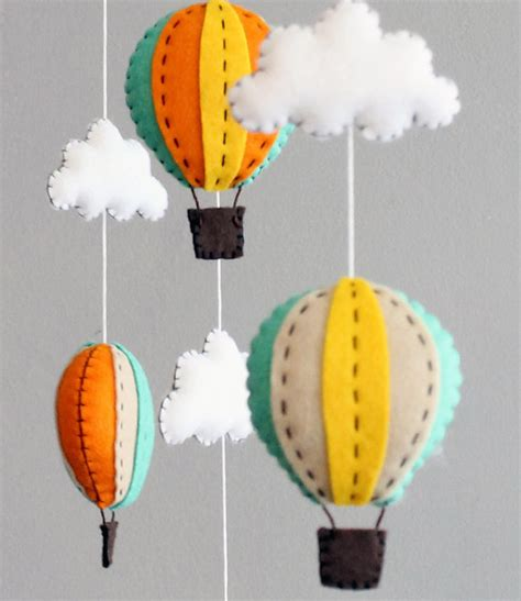 How To Make Your Own Crib Mobile by Diy Baby Mobile Kit Make Your Own Air Balloon By