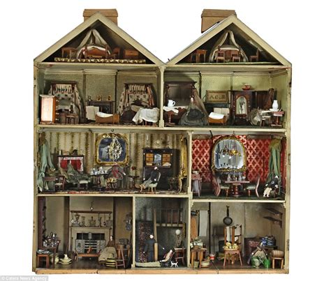victorian dolls house figures dollhouses victorian and doll houses on pinterest