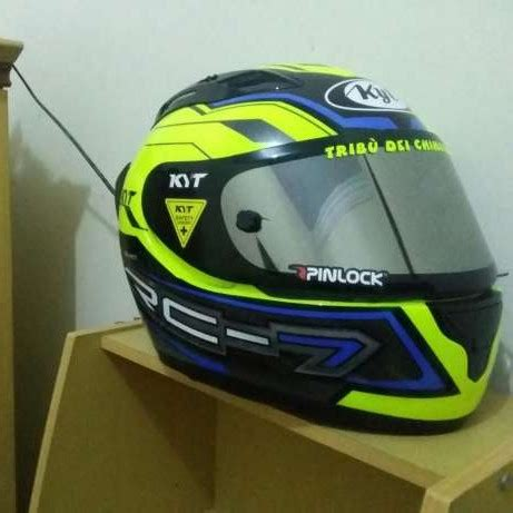Flat Visor Vendeta Clear review helm kyt rc7 yellow fluo jbminerva
