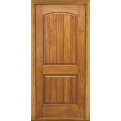 Front Door Panel Masonite 36 In X 80 In Avantguard 2 Panel Finished Smooth Fiberglass Prehung Front Door