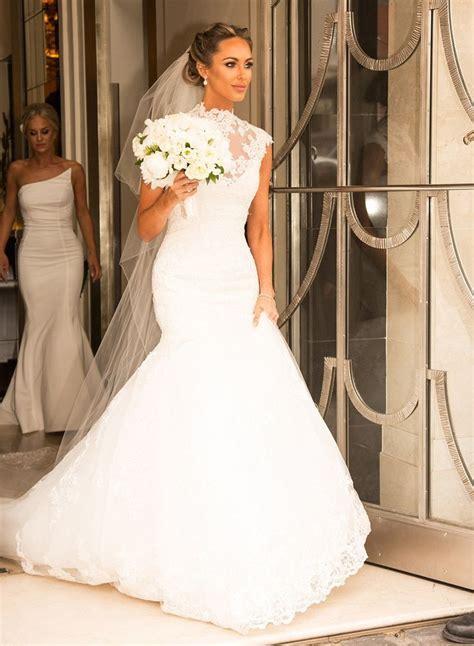 Tom Cleverley marries TOWIE star Georgina Dorsett   Lace