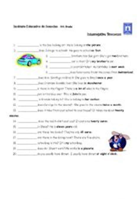 printable worksheets interrogative pronouns english teaching worksheets interrogative pronouns