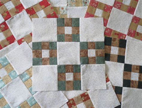 9 Patch Quilt by Quilting On Nine Patch Blocks