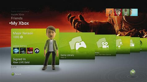 change home layout xbox one the evolution of the xbox 360 dashboard gamers xtreme