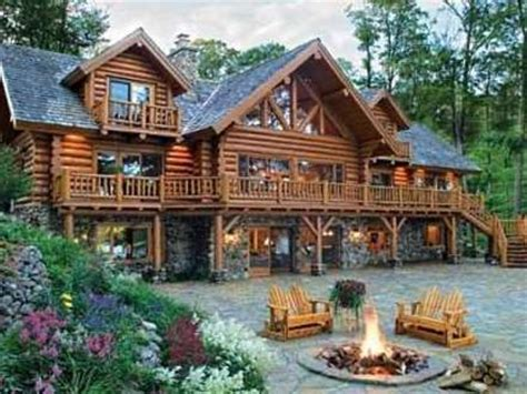 large log cabin floor plans large log cabin home plans