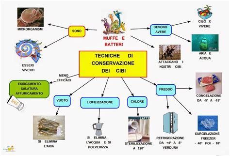 dipendenza alimentare mappe concettuali conservazione degli alimenti