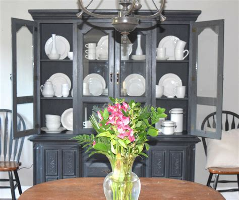 chalkboard paint home hardware chalk paint hutch makeover with a restoration hardware
