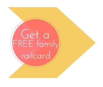 Railcard Gift Card - grab your free family railcard money saving blog mrs