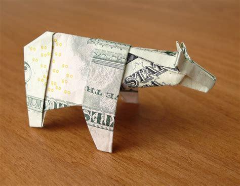 5 Dollar Origami - 5 dollar origami polar by craigfoldsfives on deviantart