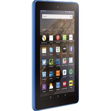 amazon tablet amazon fire 7 quot tablet 16gb blue skywavz com