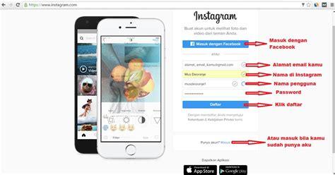 membuat video animasi di instagram cara daftar dan membuat instagram di laptop atau pc
