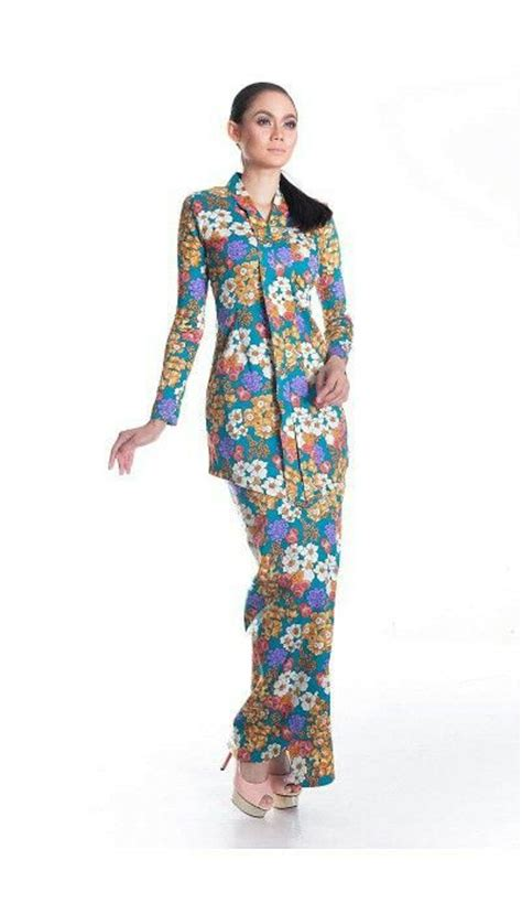 Fazira Dress fazira kebaya i mek kembang cotton traditional