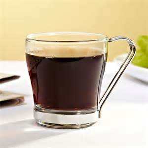 espresso americano glass coffee mugs set of 4