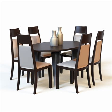 Dining Table Models 3d Model Dining Table