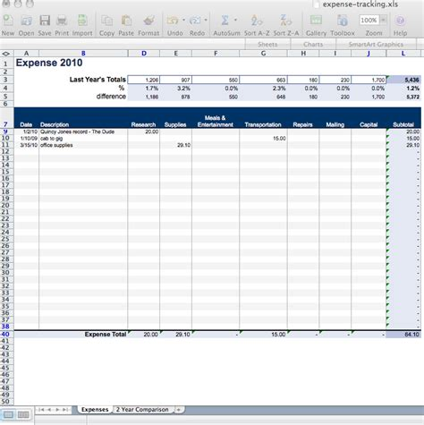 best photos of excel business expense spreadsheet