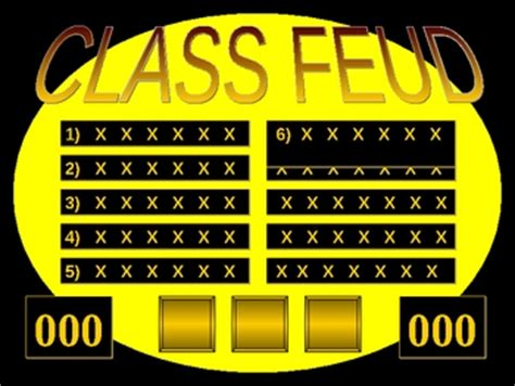 Powerpoint Templates Free Download Feud Family Feud Template Sound Family Feud Online Party Powerpoint Show Templates Family Feud