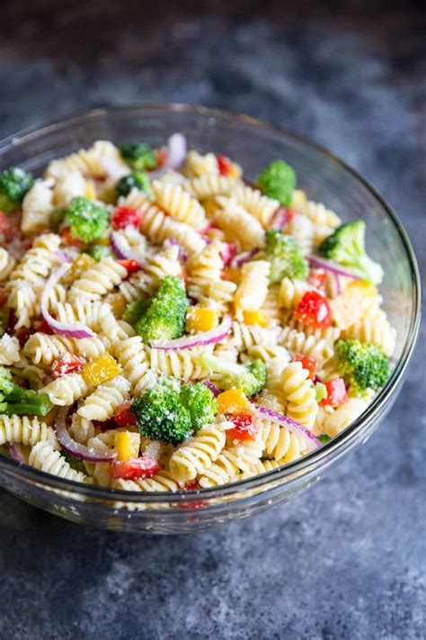 easy pasta salad recipe easy cold pasta salad recipe culinary hill