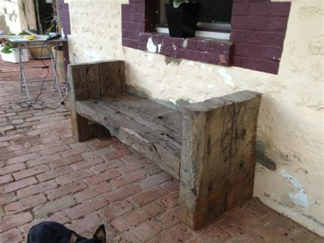 bench sleeper diy sleeper bench garden pinterest