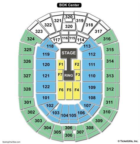 detailed seating chart bok center tulsa bok arena seating chart brokeasshome