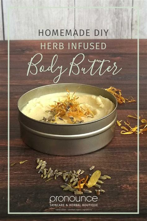 diy pronunciation diy herb infused whipped body butter pronounceskincare