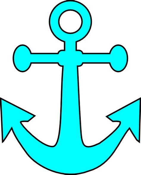 template anchor anchor printable pattern clipart best