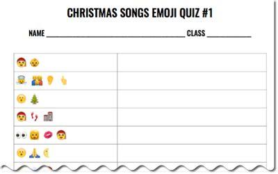 emoji quiz printable christmas songs emoji quiz free download midnight music