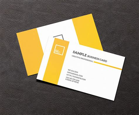 presentation cards templates 20 of the best free psd business card mockup templates