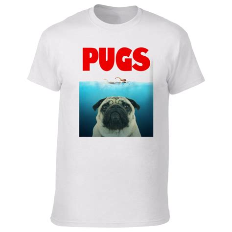 pug jaws shirt pugs jaws t shirt from animals yeah yeah uk