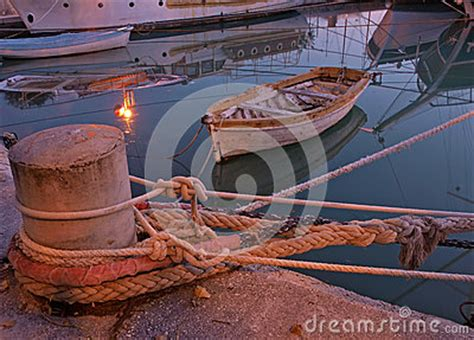 big boat rust litlle woden boats royalty free stock photos image 35172048