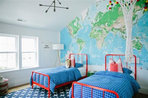 blue and red boys bedroom red and blue boys bedrooms contemporary boy s room