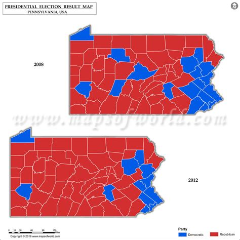 map of us election results pennsylvania election results 2016 map county results