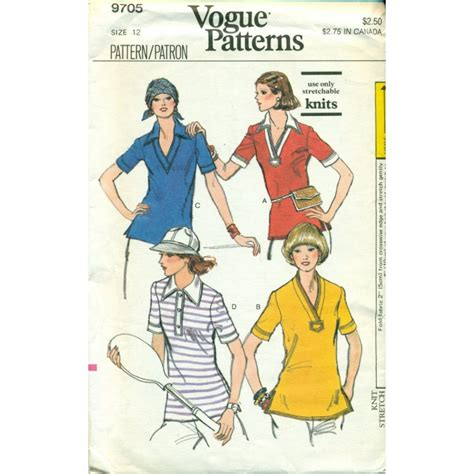 t shirt sewing pattern vogue vintage vogue sewing pattern womens t shirt angel