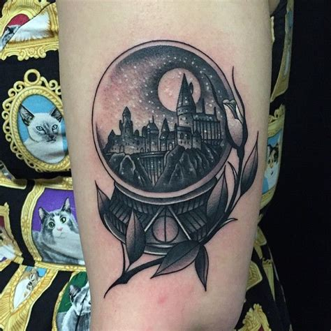 pinterest tattoo globe harry potter snow globe tattoo tattoos are life