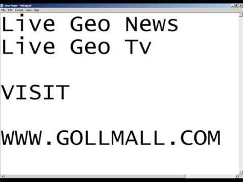 geo tv live , online geo.tv, watch geotv news youtube