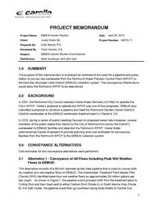 project memo template best photos of project management memo template sle