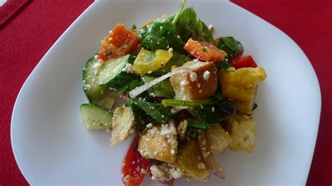 ina garten panzanella salad veg head monday ina garten s greek panzanella the