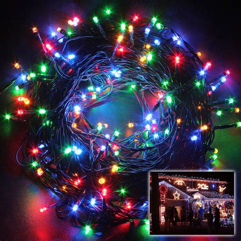 250 leds 50m multi color string fairy lights lighting