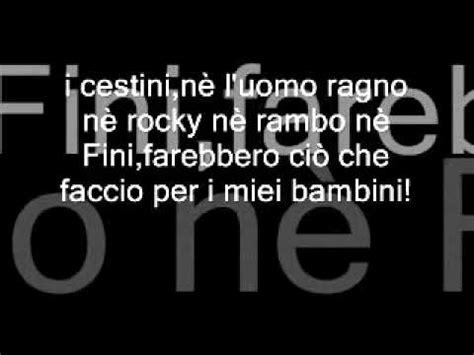 luigi delle bicocche testo caparezza eroe with lyrics con testo