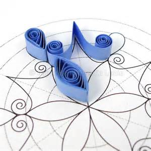 Quilling Template by Quilling Snowflake Pattern Arctic Quilling Mandalas