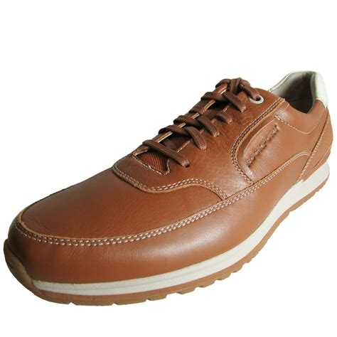 sport oxford shoe rockport mens crafted sport casual mudguard oxford shoe ebay
