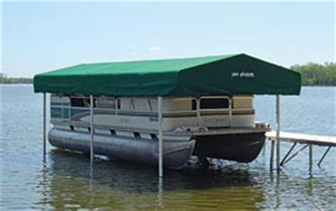 free standing boat canopy frame waterproof boat pontoon lift canopy