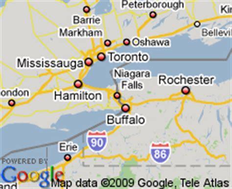 niagara falls hotels canada map map of niagara falls canada hotels accommodation