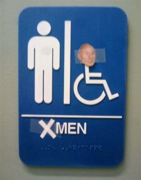 bathroom men sign x men bathroom sign pic global geek news