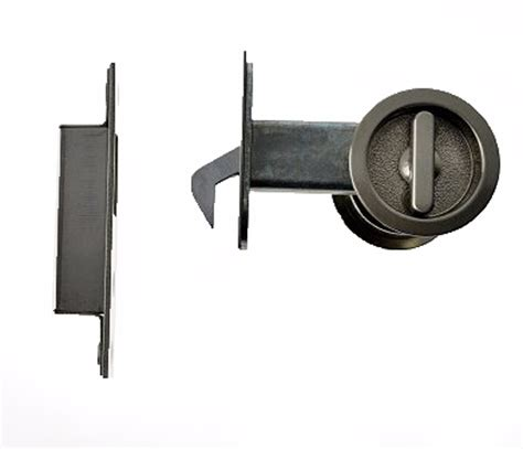 Sliding Door Knobs by Satin Nickel Sliding Door Privacy Lock Door Hardware Flush Pulls Cavity Sliders T33