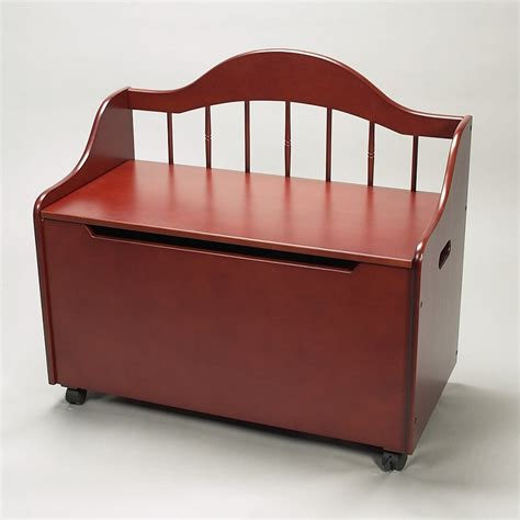 bench toy box dreamfurniture com 4025c deacon bench styled toy chest