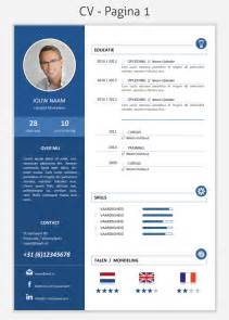 Resume Builder Linkedin by Cv Template 2032 Pagina 1 Beautiful Scenery Photography