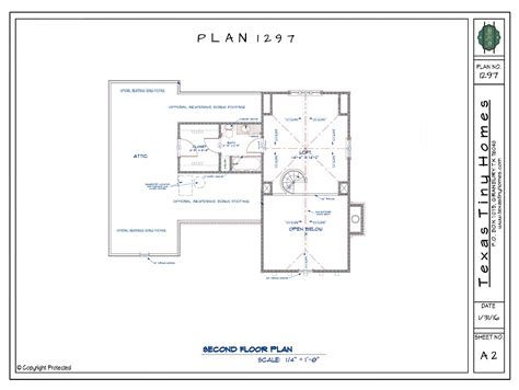 floor plans texas texas tiny homes plan 1297